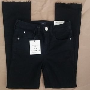 River Island Black Cropped Jeans 0 2